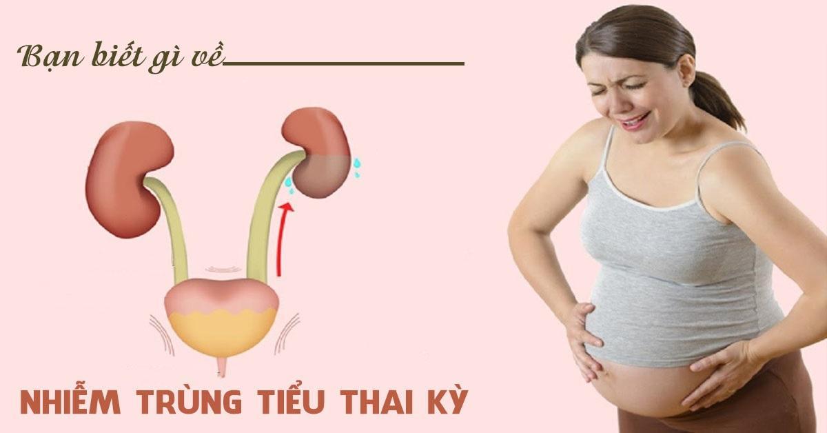 Nhiễm trùng đường tiết niệu trong quá trình mang thai