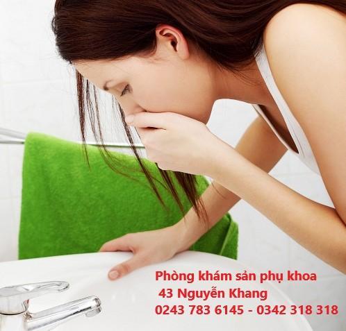 Ốm nghén và cách cải thiện ốm nghén hiệu quả