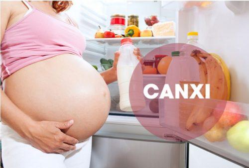 Vì sao mẹ bầu cần bổ sung thực phẩm giàu Canxi và Vitamin D?