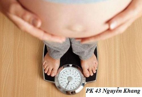 Tăng cân khi mang thai, bao nhiêu là phù hợp