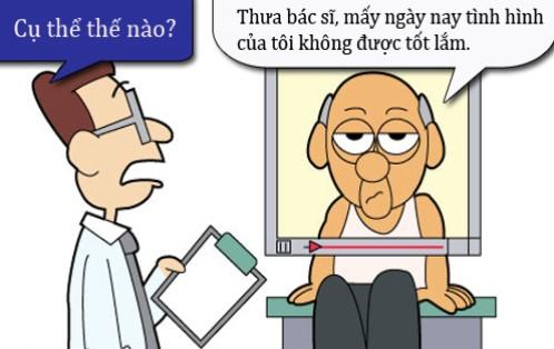 Truyện cười y khoa: Lo xa