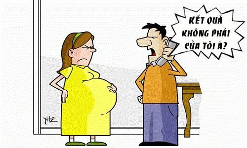 Truyện cười y khoa: Đưa vợ bầu đi siêu âm