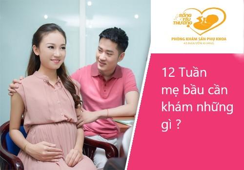 12 Tuần mẹ bầu cần khám những gì ?