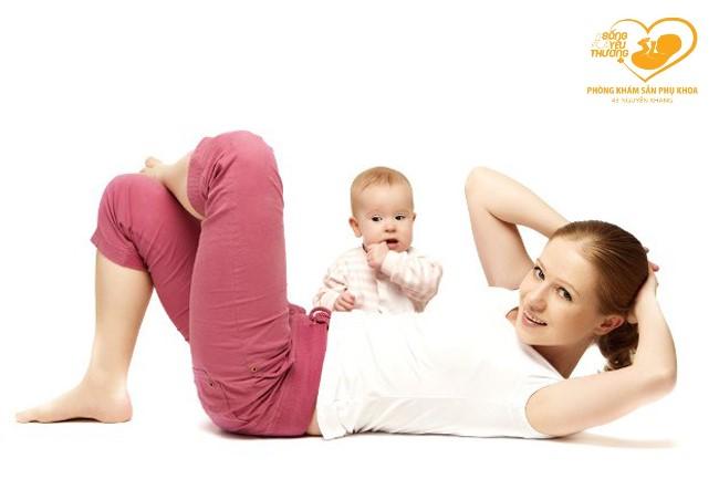 Giảm cân sau sinh – Câu truyện muôn thủa của các bà mẹ