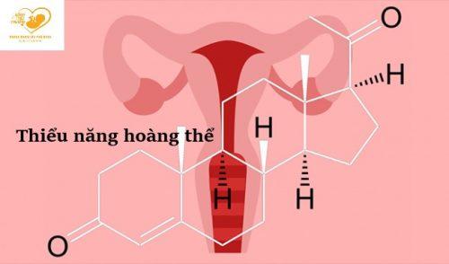 Tìm hiểu về thiểu năng hoàng thể thai kỳ