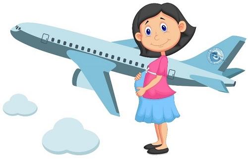 Mẹ bầu đi máy bay cần lưu ý những gì?